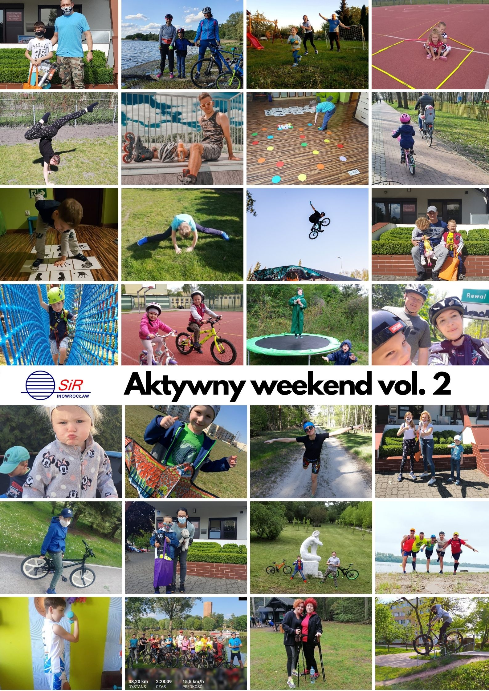 plakat aktywny weekend vol.2