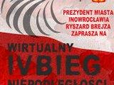 Plakat - wirtualny bieg niepodległości
