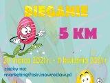 Plakat - wielkanocne bieganie