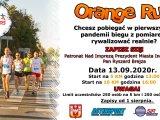 Plakat V Bieg Orange